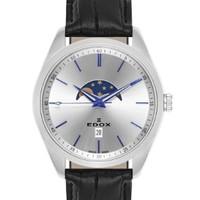 EDOX 依度 Les Vauberts 79018-3-AIBU 男士石英腕表