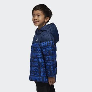 adidas 阿迪达斯 DM7128 小童训练羽绒服 学院藏青蓝/学院藏青蓝/白 105cm