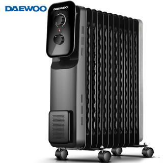 大宇(DAEWOO)取暖器家用/电暖器/电热油汀/暖气片 13片加宽整屋升温DWH-O2201M *2件