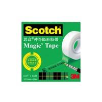3M 思高 810Scotch 神奇隐形粘字胶带 12.7mm*10米 2卷