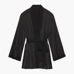 限地区:Savage X Fenty 女士 短睡袍 黑色