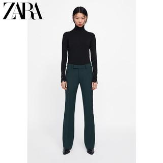 ZARA 05646103800 女士针织衫 (L、黑色)