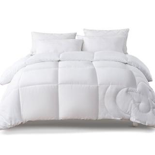 睡眠博士(AiSleep)被子 蝶梦眠眠柔绒春秋被子 空调被纤维保暖被芯220*240cm+凑单品