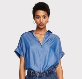 MANGO 33073020 女士衬衫