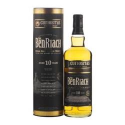 本利亚克(BENRIACH)洋酒 泥煤10年苏格兰斯佩塞单一麦芽威士忌700ml