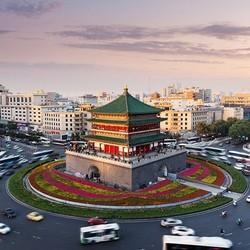 直飞往返,住市中心酒店!上海-西安4天3晚