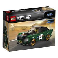 LEGO 乐高 超级赛车系列 75884 1968款福特野马