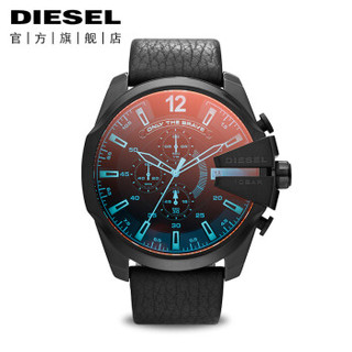 迪赛(Diesel)手表 CHIEF军官系列 偏光镜面石英腕表 极光梦魇 DZ4323