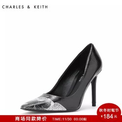 CHARLES&KEITH CK1-60361124 女士高跟鞋