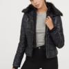H&M DIVIDED HM0661288 女装夹棉短外套