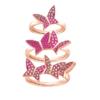 SWAROVSKI 施华洛世奇 5409020 LILIA系列 戒指套装 玫瑰金色 598元