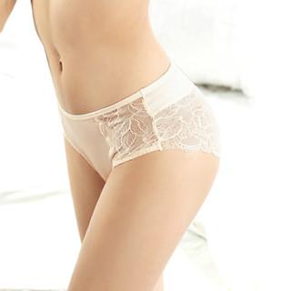 梦芭莎 011116205 女士蕾丝低腰内裤