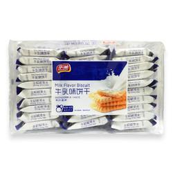 华美 牛乳味饼干468g