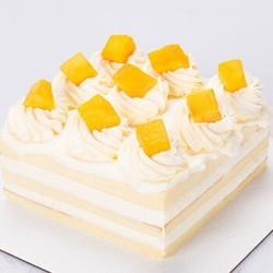 贝思客 芒GO水果蛋糕 1磅(约6寸)