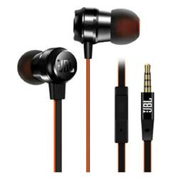 JBL T280A+ 钛振膜立体声入耳式耳机 手机耳机 带麦可通话 珍珠黑 苹果安卓通用