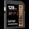 Lexar 雷克沙 Professional 633x SDXC UHS-I U3 V30 Class10 SD存储卡 128GB 169元包邮(需用券)