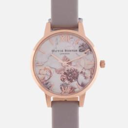 OLIVIA BURTON MARBLE FLORALS 大理石花卉 女士时装腕表