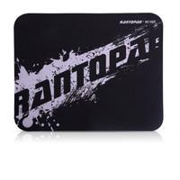 RANTOPAD 镭拓 H1mini 橡胶布面便携笔记本电脑办公鼠标垫 小号 黑色