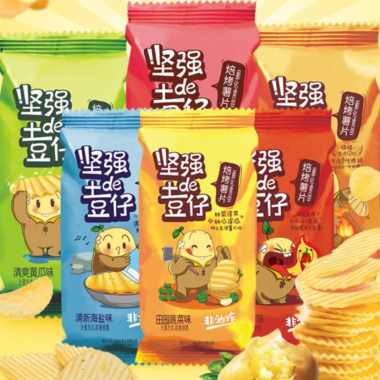 小王子 薯片 土豆仔 8包 248g