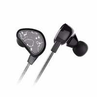 CUBE 酷比魔方 F40 4单元圈铁耳机 黑色