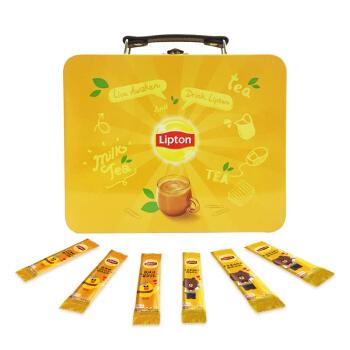 Lipton 立顿 LINE FRIENDS 悠享装 香浓原味+港式鸳鸯奶茶 40条 *4件
