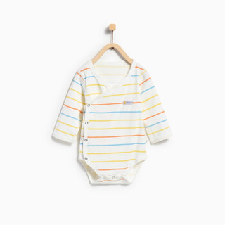 童泰婴儿纯棉包屁衣四季连体衣 TS82J095 条纹 66