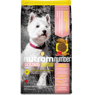 nutram 纽顿 S7 低敏系列 去骨鸡肉糙米狗粮 6kg