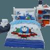 Dohia 多喜爱 儿童卡通全棉磨毛四件套 托马斯和他的朋友们  269元包邮(前50件)