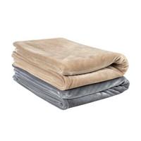 京造 法兰绒超柔毛毯空调毯 150*200cm