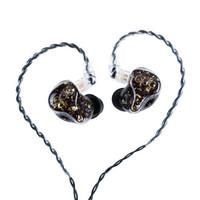 qdc 蒙娜丽莎 二单元动铁入耳式耳机
