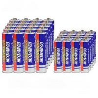 双鹿 碳性干电池 5号20粒+7号20粒