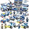 儿童积木拼装玩具 城市警察 762颗粒8公仔 24元(需用券)