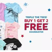 海淘活动:Carter's美国官网 可爱童装T恤