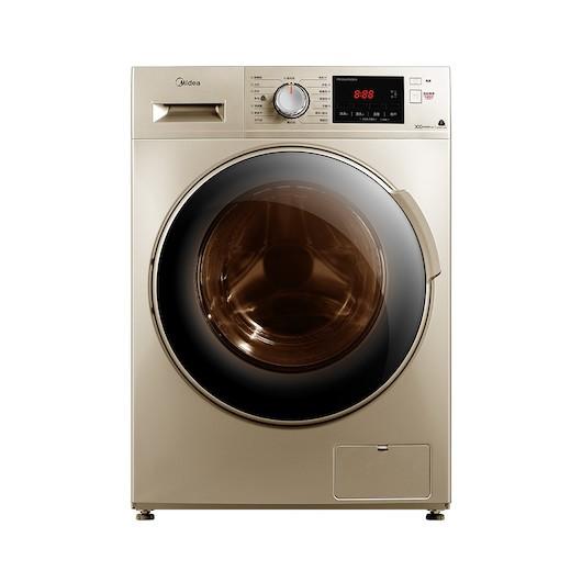 Midea 美的 简尚系列 MD100V332DG5 洗烘一体机 变频 10KG 摩卡金
