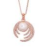 Pica Lela 优雅珍珠镀18K 玫瑰金项链 135.67元(需用券)