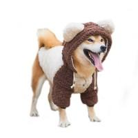 京东PLUS会员 : 华元宠具 宠物衣服 狗熊变身装 6XL *4件