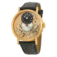 BREGUET 宝玑 Tradition 传世系列 7027BRR99V6 18K玫瑰金 男士机械腕表