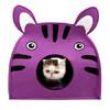 两只福狸宠物猫窝 斑马 紫色 *3件 154元(合51.33元/件)