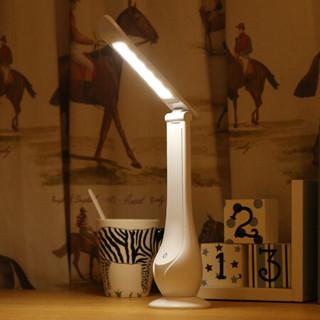雅视力 Yassrean台灯卧室床头LED工作阅读学生学习儿童便携USB充电美丫台灯C11白色