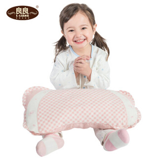 L-LIANG 良良 听梦婴儿枕头 (粉色、48*26.5cm)