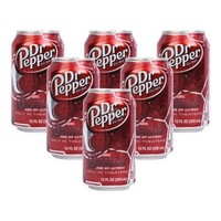 Dr Pepper 胡椒博士汽水 原味 355ml*12罐/箱