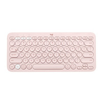 Logitech 罗技 K380 蓝牙键盘 茱萸粉