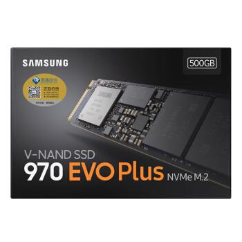 SAMSUNG 三星 970 EVO Plus 500GB NVMe M.2 SSD固态硬盘(MZ-V7S500B)