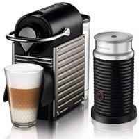 Krups XN 301T Pixie 胶囊咖啡机+Aeroccino3 奶泡机