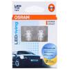 欧司朗(OSRAM) W5W/T10 LED车灯汽车灯泡示宽灯示廓灯日行指示灯2880SW带透镜(2支装) *4件 296元(合74元/件)