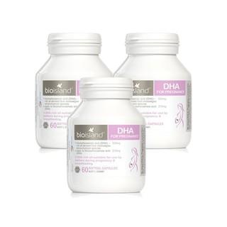 BIO ISLAND BIO ISLAND 佰澳朗德 孕妇专用DHA  60粒 3瓶装