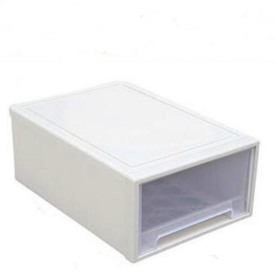 一件就包邮 百露 BL2886 抽屉式 透明收纳箱 27*18*10cm