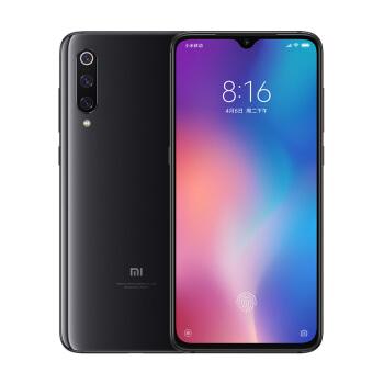 MI 小米 小米9 智能手机 (8GB、128GB、全网通、深空灰)