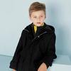 美特斯邦威旗下 moomoo童装男童假两件大衣中大童大口袋加厚保暖呢子外套冬装 102.3元