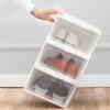 IRIS 爱丽思 塑料透明鞋盒 3只装